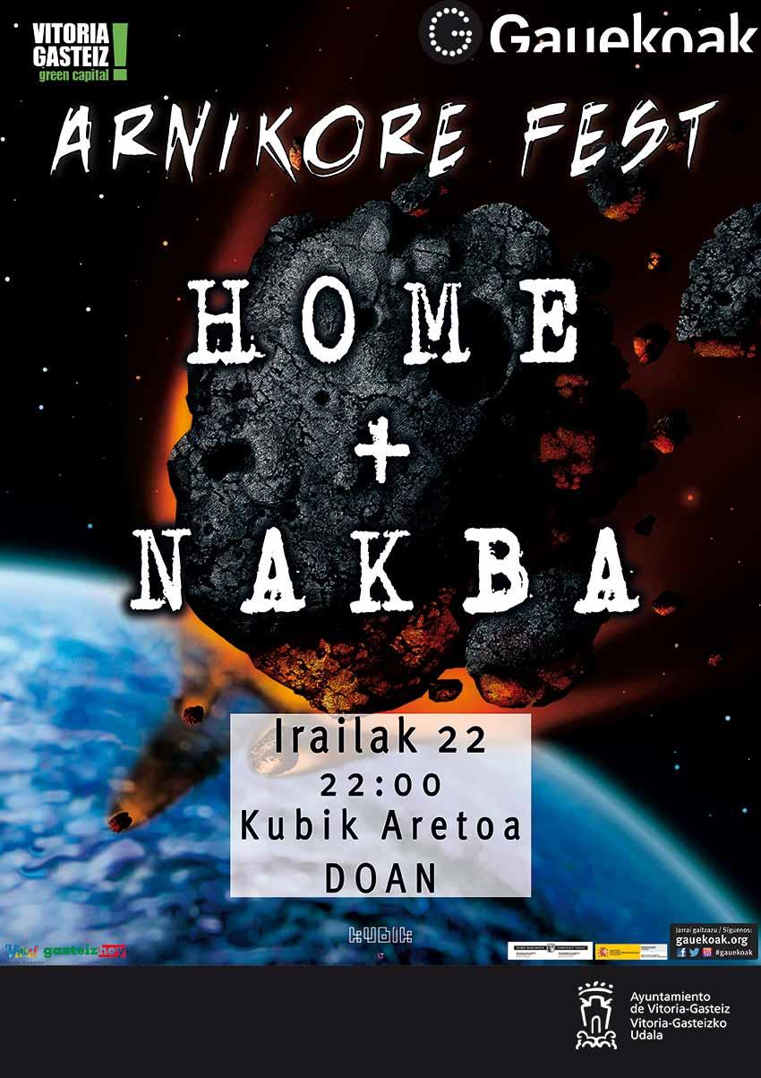 ARNIKORE FEST - Home + Nakba - Kubik