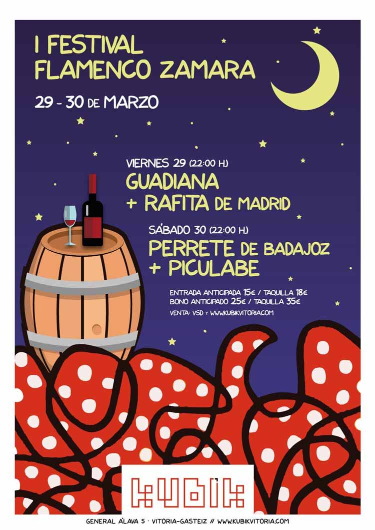 I Festival Flamenco Zamara - Kubik